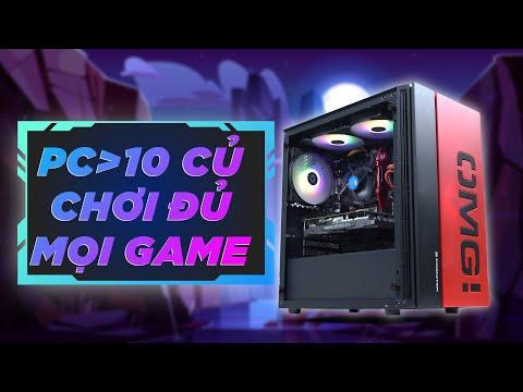 PC HƠN 10 TRIỆU CHIẾN GAME, VIDEO EDITING CỰC NGON
