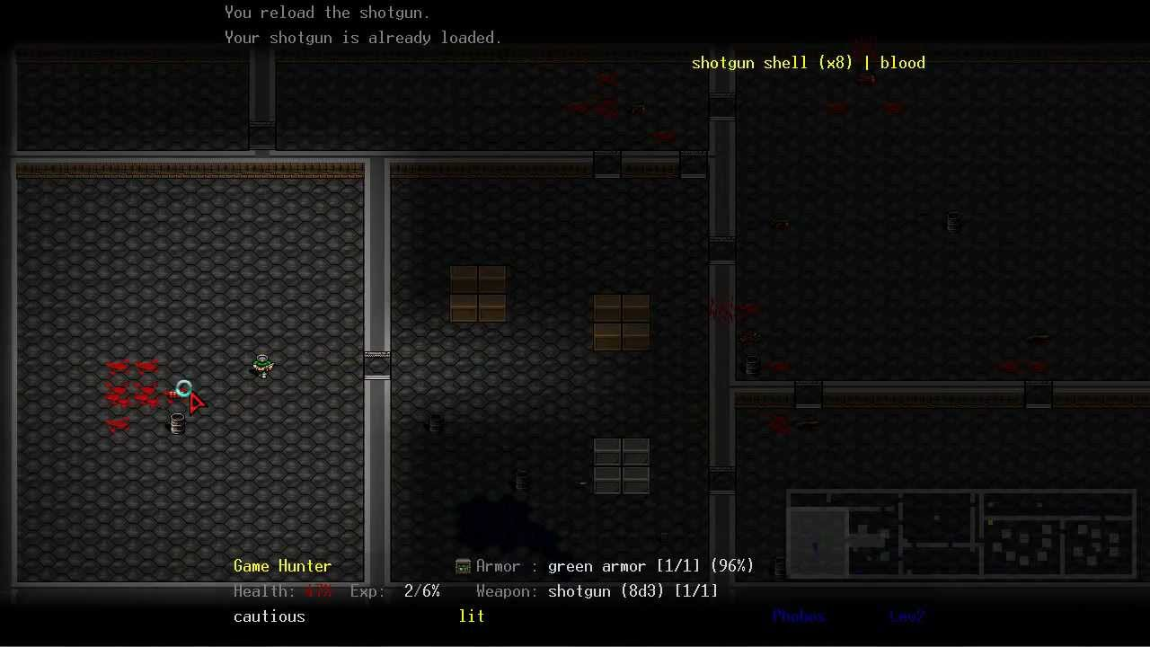 DoomRL Is The Free Doom RPG You Need To Play