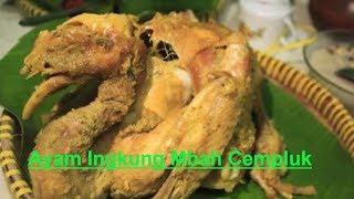 Ayam Ingkung Mbah Cempluk - Kuliner Go Food Gojek Yogyakarta