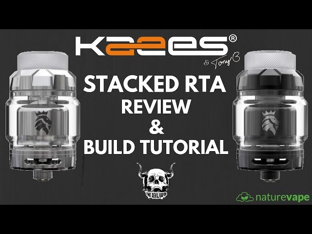 Kaees Stacked RTA Review & Build Tutorial - A Tony B Project!