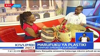 Kiongozi wa NEMA aeleza umuhimu wa kupiga marufuku karatasi za plastiki