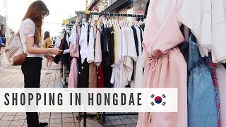 Shopping In Hongdae | Pet Shop, BT21, KPOP Dance, Food | Come With Me