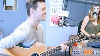 Andy Grammer Creates A 'Song on the Spot' at MYfm