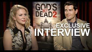 GODS NOT DEAD 2 Interviews Feat <b>Melissa Joan Hart </b>& Jesse Metcalfe