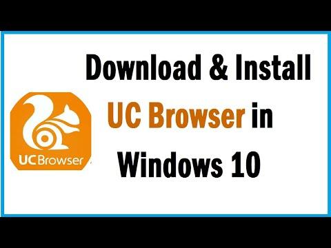 Cómo descargar e instalar UC Browser en Windows 10