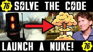 Fallout 76 How to Launch a Nuke and Solve the Code!