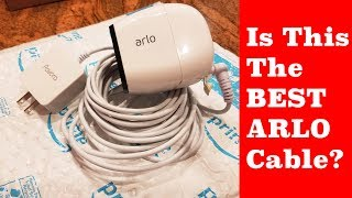 Is This The Best Outdoor Power Adapter for Arlo Pro & Arlo Pro 2 and Arlo GO???