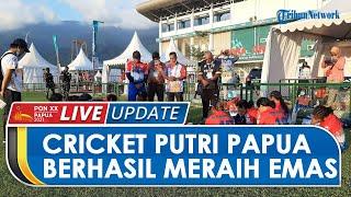 Tim Kriket Putri Papua Tak Diunggulkan di Final, Kini Malah Sabet Medali Emas Perdana