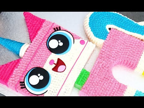 Unikitty Cake! How To Make ADORABLE LEGO Cakes | Cake Decoration Ideas