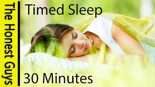 SLEEP FOR 30 MINUTES. Guided Sleep TALK-DOWN with BLISSFULLY RELAXING RAIN (Timed)