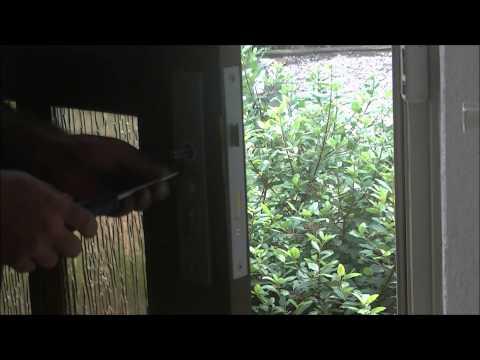 Türschloss Einbau, Sicherheitsbeschlag , Zylinder Teil 2