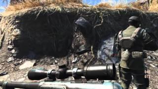 Fallout 4 ~ Artillery Strike on Gunners Sniper Nest..