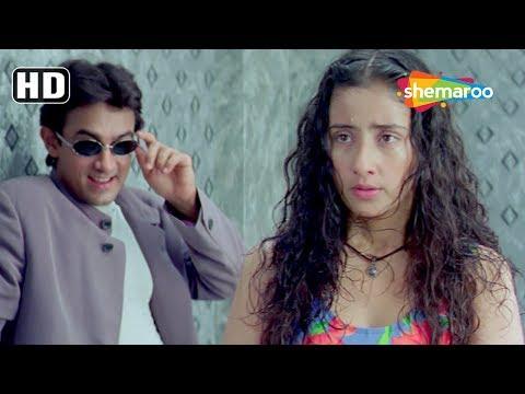 Best Comedy Scenes from Mann (1999) (HD) Aamir Khan | Manisha Koirala | Neeraj Vora  - Romantic Film