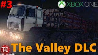 SpinTires MudRunner Xbox One: Let's Play THE VALLEY DLC! FIRST LOAD OF LUMBER! 8 POINTS!! NEW 8X8!