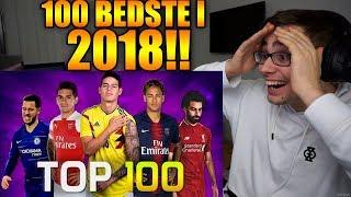 DE 100 BEDSTE MÅL I 2018!! | REAKTION