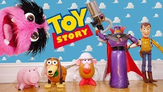 ¡Marioneta Fuzzy 🚀 Toy Story Parte 2!