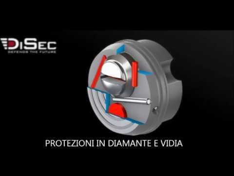 Defender Disec In Diamante E Widia Massima Protezione Al Cilindro