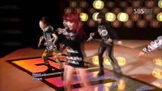 2NE1 - Can't Nobody (투애니원 - Can't Nobody) @ SBS Inkigayo 인기가요 100926