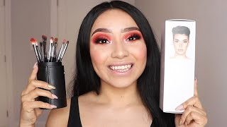 Morphe X James Charles; The Eye Brush Set REVIEW | MsBeautyinspire