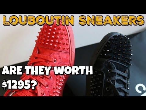 Louboutin Sneakers, Hot? or Hype?