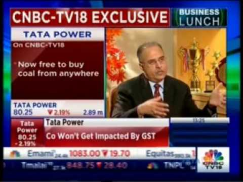 Mr.Anil Sardana, CEO & MD,Tata Power interview with CNBC (part 2)