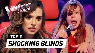 The Voice Kids | MOST SURPRISING and SHOCKING Blind Auditions [PART 3]