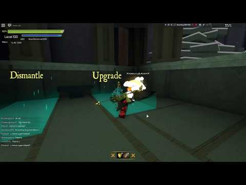 Roblox Swordburst 2 trading my Chaos Plate Mail for Dragon