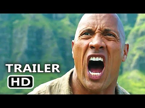 JUMANJI 2 International Trailer (2017) New Footage, Dwayne Johnson Adventure Movie HD