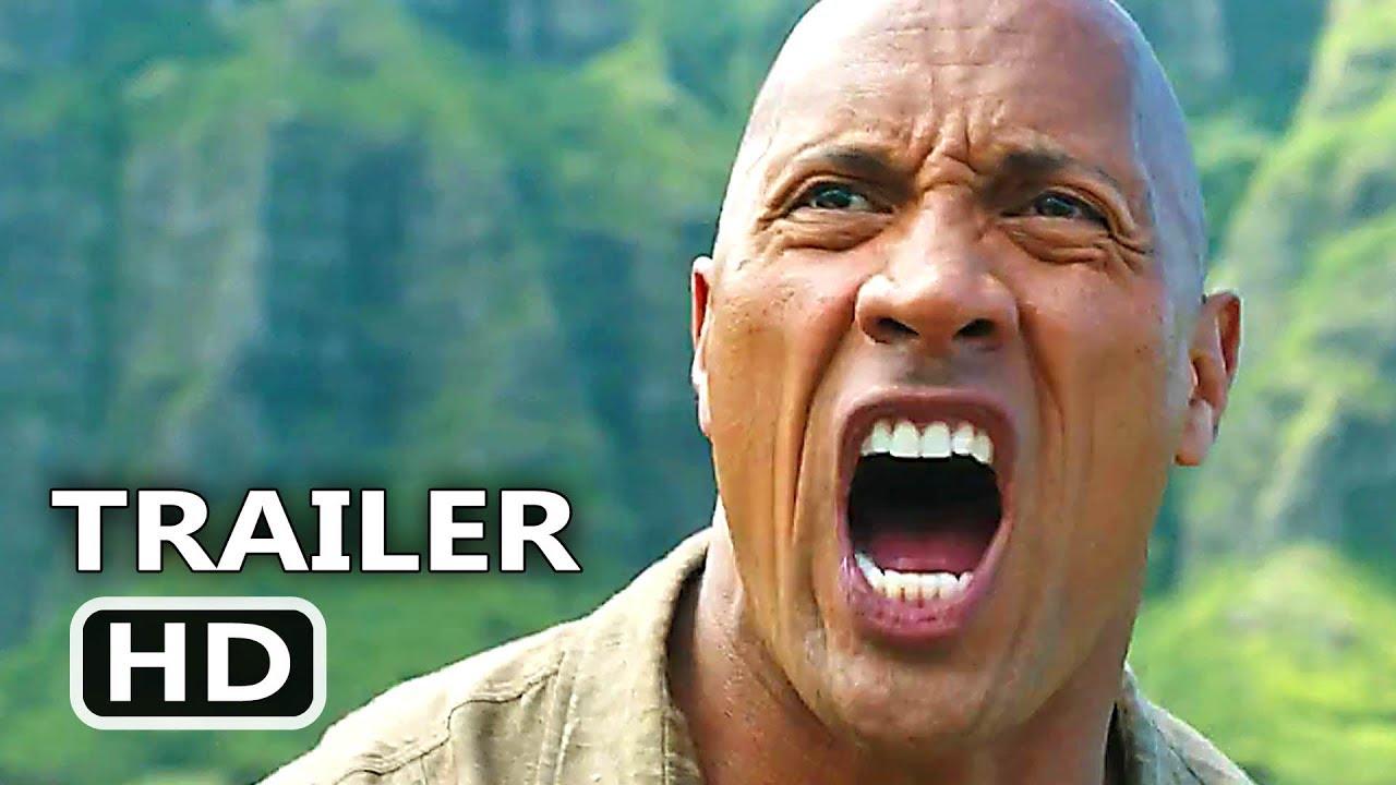 JUMANJI 2 International Trailer (2017) New Footage, Dwayne Johnson Adventure Movie HD  downoad full Hd Video