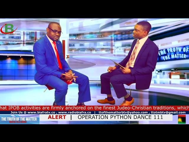Buhari Is Planning Python Dance III Against Biafra