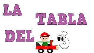 La Tabla del 6 -  Tablas de Multiplicar - Vídeos educativos para Niñosy Bebés - Paty y Poty