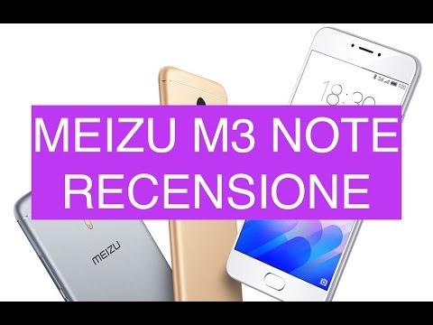 Recensione Meizu M3 Note ITA