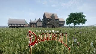 TES Daggerfall On Skyrim Engine - 4k Graphics