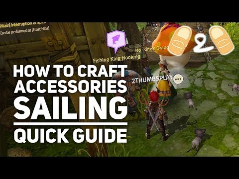 World of Dragon Nest How to Craft Accessories Where to Find Pearl Sailing Tips Guide