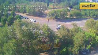ДТП (авария г. Волжский) ул. Пушкина ул. Энгельса 27-07-2018 16-25