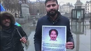 Hakeem Baloch speech during awareness campaign