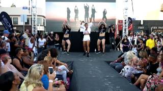 "Christina Milian Performs ""Like Me"" at The We Are Pop Culture Block Party"