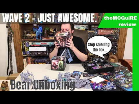 theMCGuiRE review looks at LoH WAVE 2 Warlord box and ALL Expansions