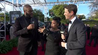 Tyler Perry Red Carpet Interview - Golden Globes 2019