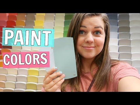Choosing Paint Colors For Our New House!