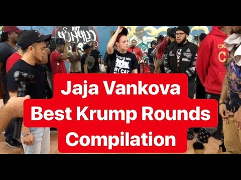 JAJA VANKOVA | BEST KRUMP ROUNDS COMPILATION