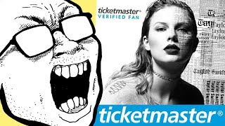 Taylor Swift And Ticketmaster Greedily Fleecing Fans