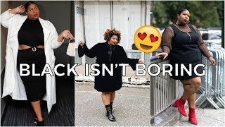 PLUS SIZE BLACK DRESSES THAT AREN'T BORING | TRY ON