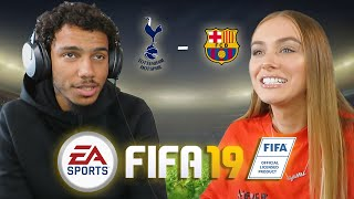 PLAYING FIFA   With AJ TRACEY
