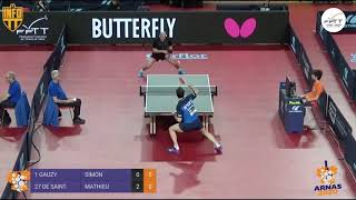 Simon GAUZY vs Mathieu DE SAINTILAN | 2020 FRENCH CHAMPIONSHIP R32 | HIGHLIGHTS