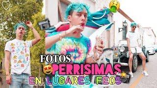 FOTOS COOL EN LUGARES FEOS! CHALLENGE 📸✨