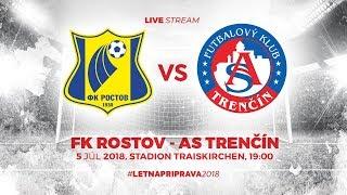 ASTV live: FK Rostov - AS Trenčín | Prípravný zápas