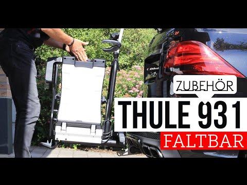 Hands On: Thule 931 Fold Fahrradträger klappbar auch für E-Bikes !