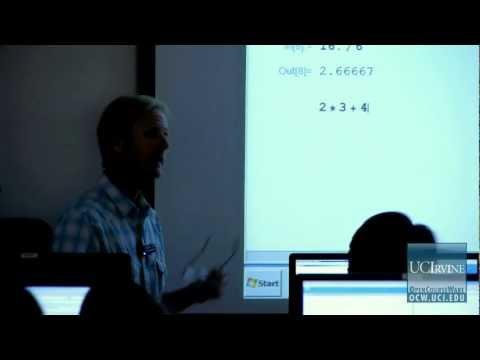Scientific Computing Skills 5. Lecture 01. - YouTube