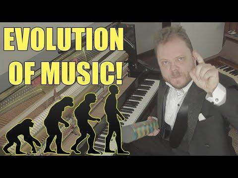 האבולוציה של מוזיקה מ-1680 ועד ימינו